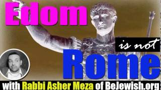 Edom is not Rome