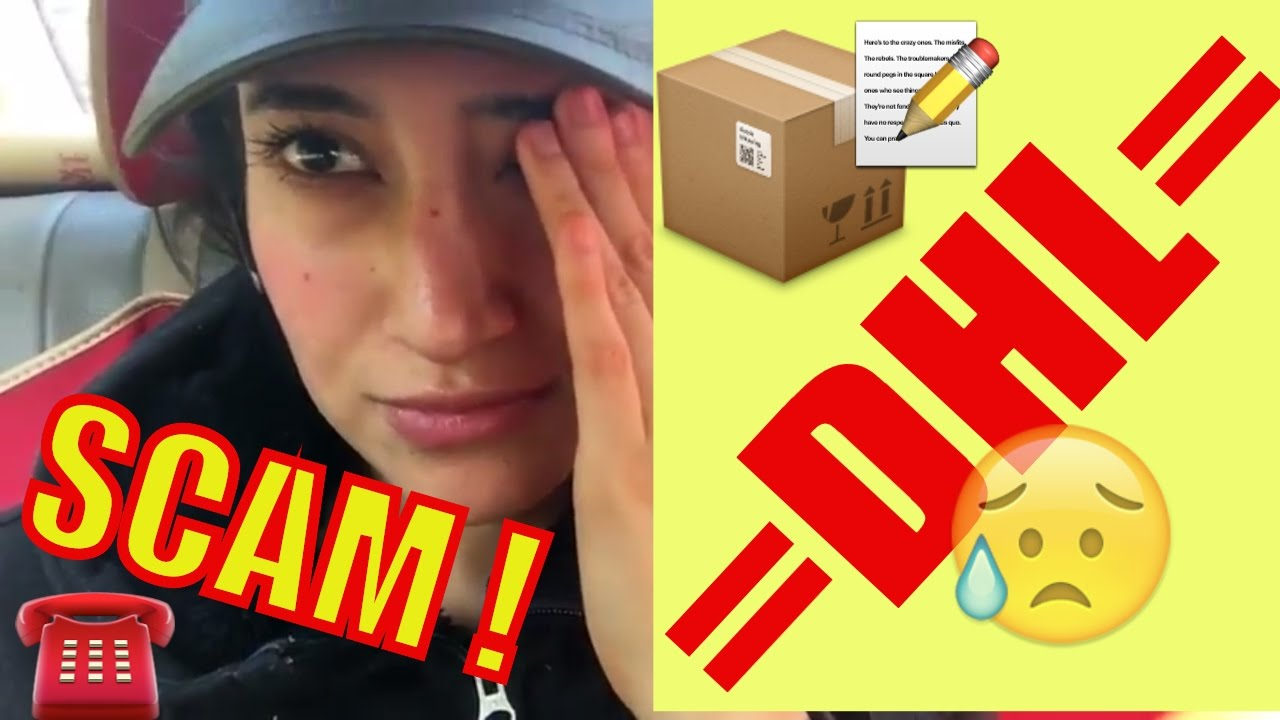 Dhl Scam Exposed Shipping Goods From China To Usa During Christmas