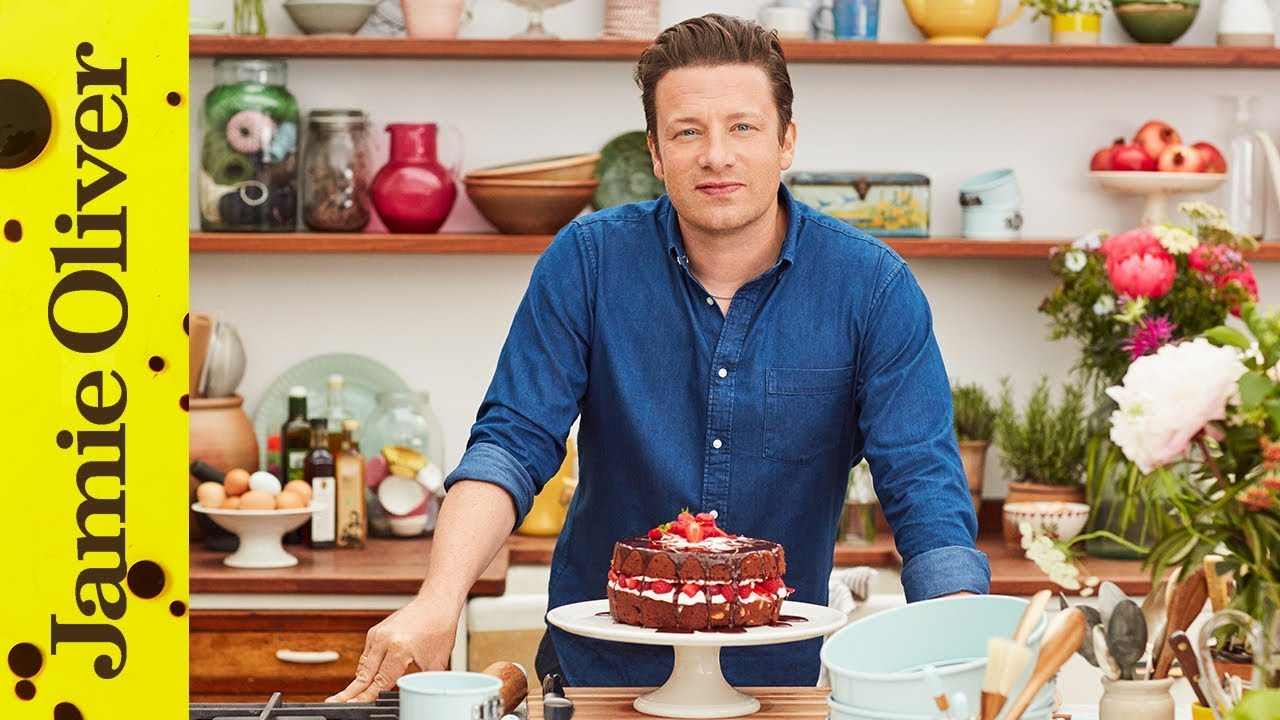 Chocolate Cake | Jamie Oliver - AD - YouTube