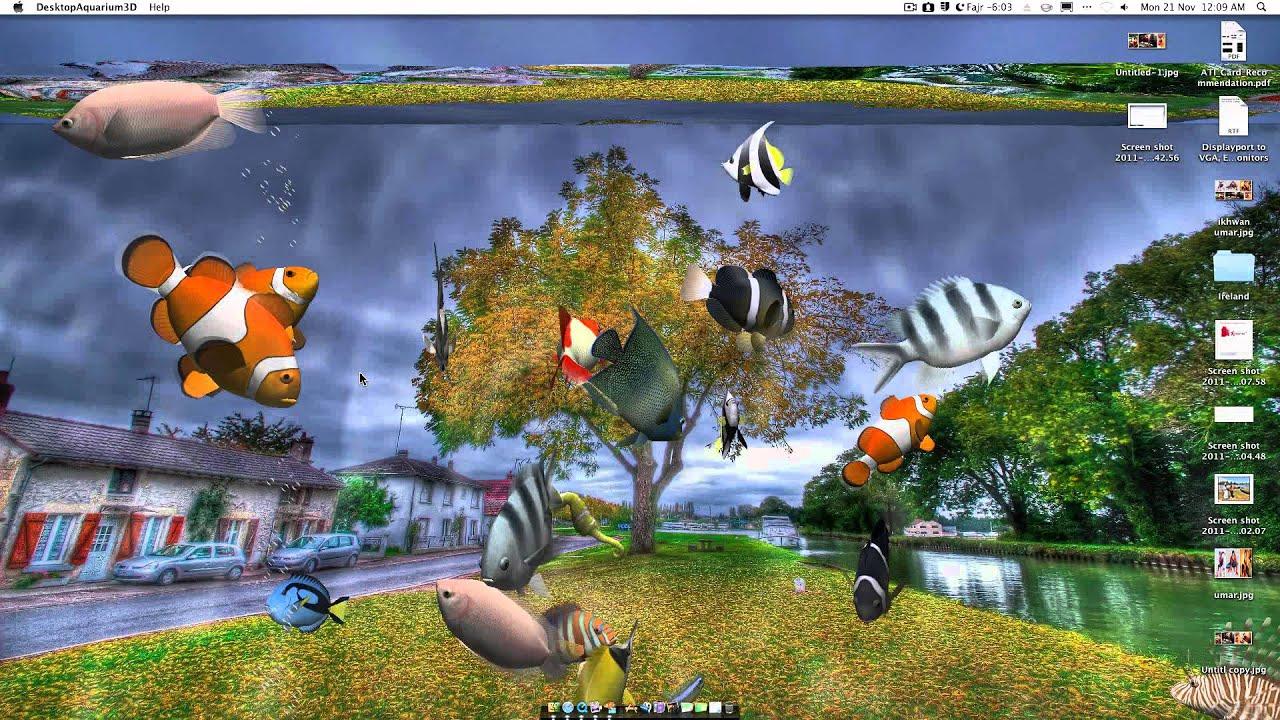 Desktop Aquarium 3d Live Wallpaper Free