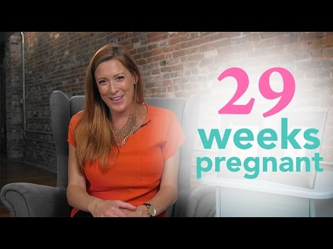 29 Weeks Pregnant Ovia Pregnancy