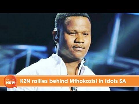 KZN rallies behind Mthokozisi in Idols SA