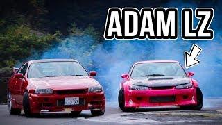 Tandems with Adam LZ in Okachans S15 at Nikko Circuit Japan