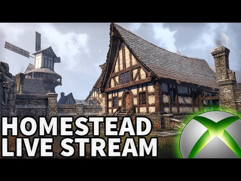The Elder Scrolls Online Homestead Live Stream