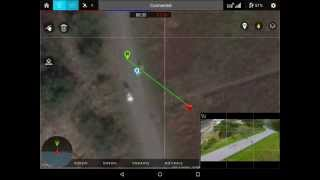 Android Vision Pilot app Follow Me: Using Follow mode to execute POI for DJI Phantom Vision