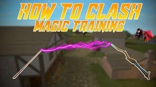 How to clash! Roblox Magic Training