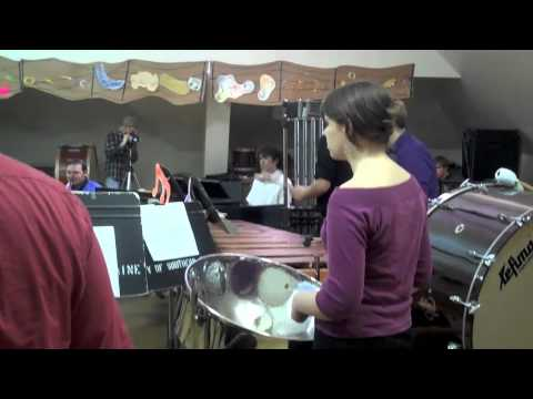 Terry Riley's IN C performed by University of Southern Maine Composers  Ensemble Part 1