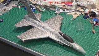 Hobbyking X16 Chuck Glider To R/c Edf Jet Conversion!