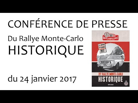 RMC Historique Conférence de presse du 24 01 2017