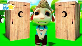 New 3D Cartoon For Kids  Dolly And Friends  Toilet Troubles - Wash Your Hands