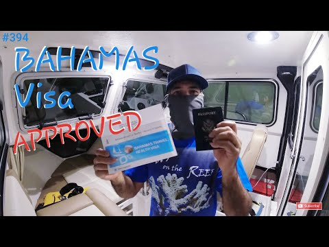 Bahamas Health Visa Approved Solo Departure from Miami to Bimini in a Small Crooked PilotHouse Boat