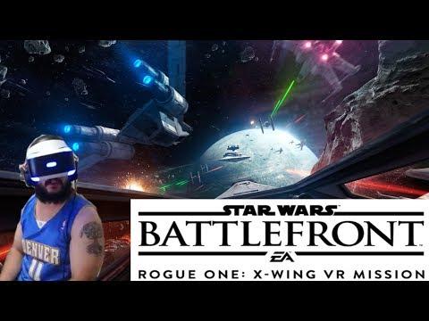 Mi experiencia con PlayStation VR: BATTLEFRONT VR - Rogue One Mission