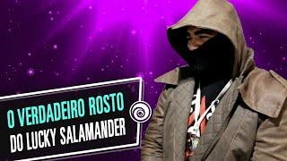 O ROSTO DO LUCKY SALAMANDER NA BGS 2015
