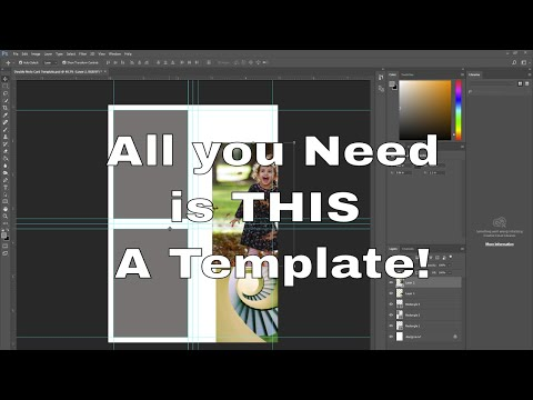 How To Create A Greeting Card Template In Photoshop