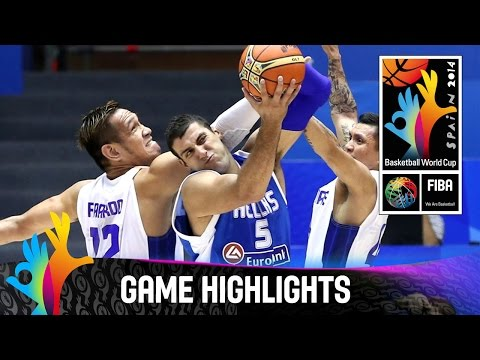 Philippines v Greece - Game Highlights - Group B - 2014 FIBA Basketball World Cup