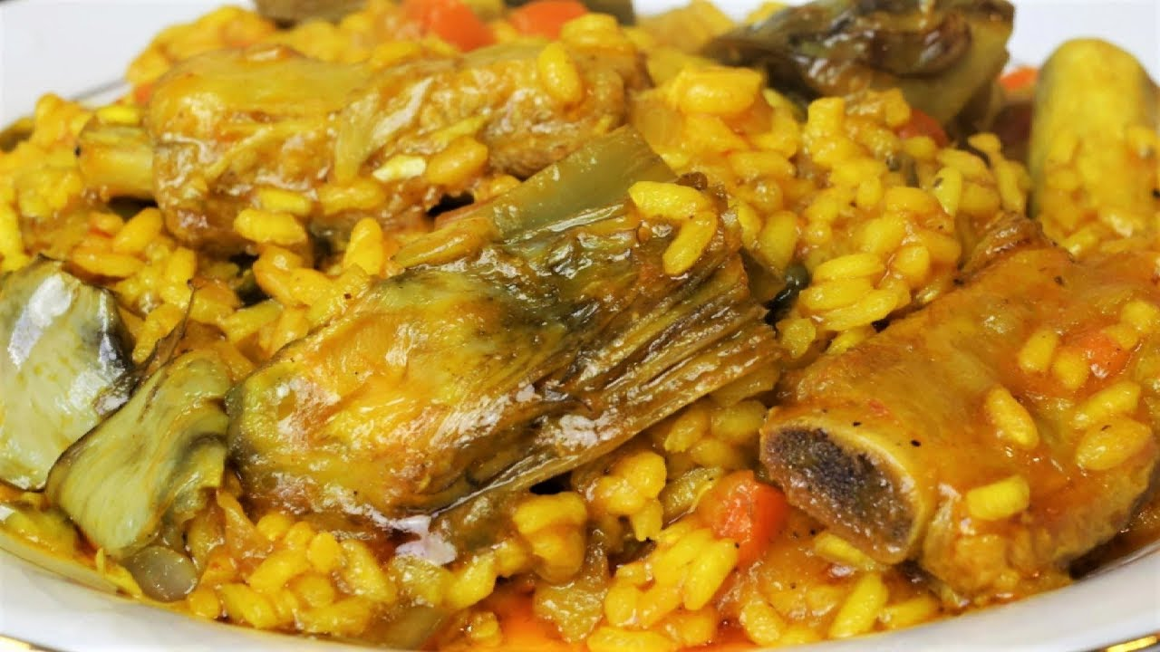 Arroz con costillas y alcachofas youtube - Costillas con alcachofas ...