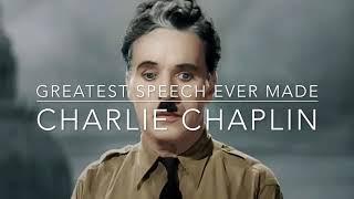 Motivational speech- Charlie Chaplin