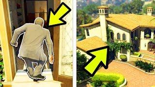 🔴 מה יקרה אם מייקל יפרוץ לבית של עצמו ב GTA V?! (חוזרים בזמן ופורצים לבית של מייקל! מטורף!)