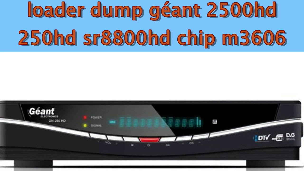 loader geant 2500hd new gratuit