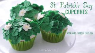 How to make buttercream cupcakes for St. Patrick's Day: http://www....