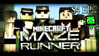 """Minecraft MAZE RUNNER - """"THE BREAKOUT!"""" #23 (Minecraft Roleplay)"""