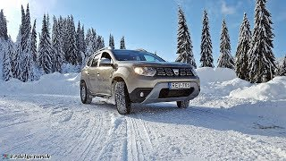 Dacia Duster tesztút