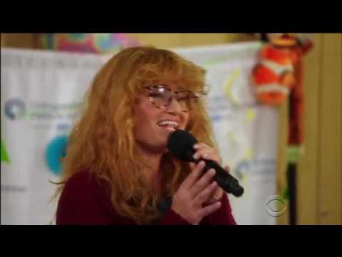 OIC and Idina Menzel on Undercover Boss: Celebrity Edition