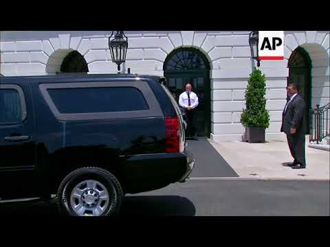 NKorea Top Aide Arrives at White House