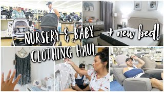 Nursery & Baby Clothing HAUL + We got a new bed!