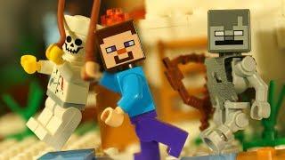 ИГЛУ для ЛЕГО НУБика Майнкрафт Мультики LEGO Minecraft - Видео Мультфильмы для Детей