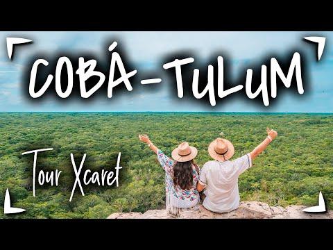 Tour TULUM COBA + Xel Ha ► Tour de XCARET 🔴 TOUR de 1 DIA a Tulum y Coba ✅ Tours en CANCUN MEXICO