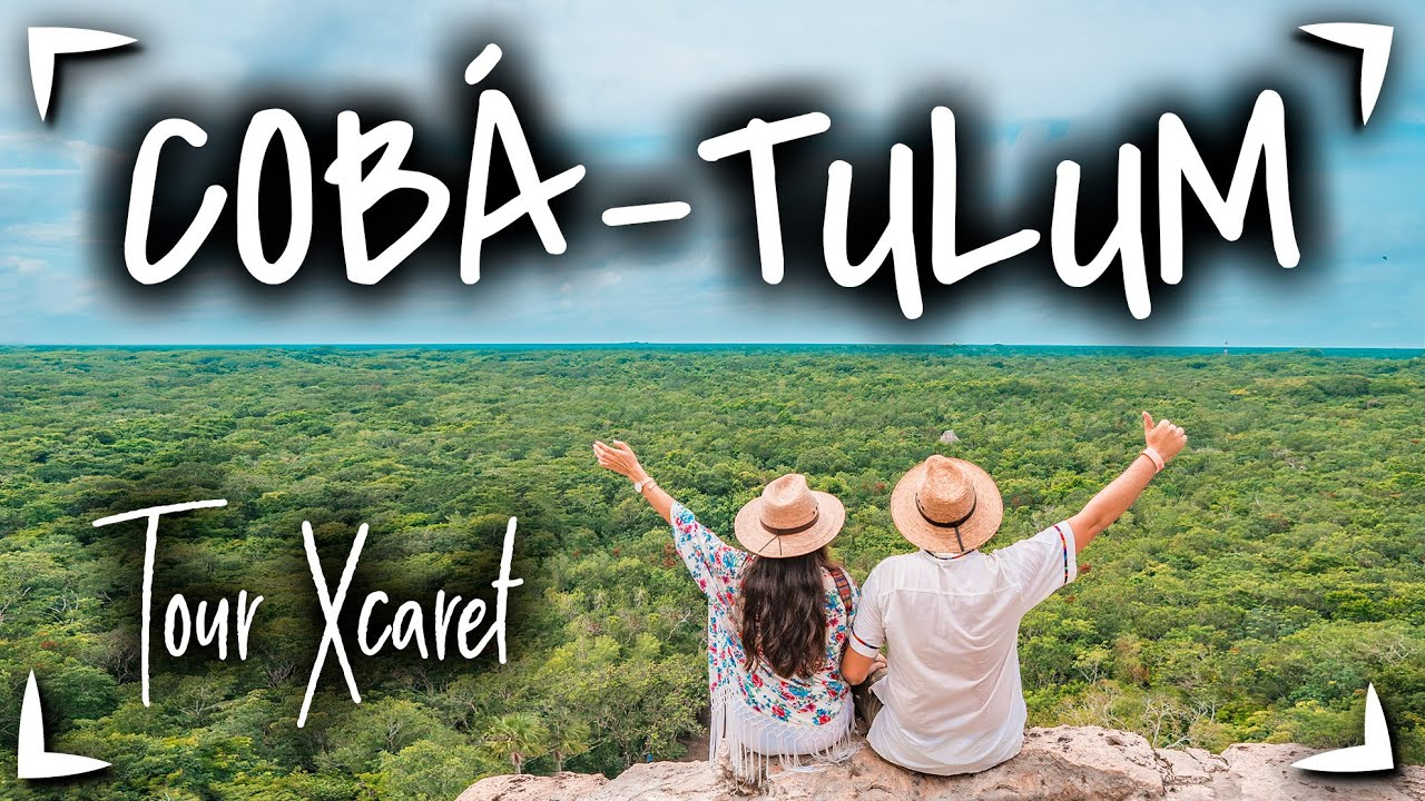 Download Tour TULUM COBA + Xel Ha ► Tour de XCARET 🔴 TOUR de 1 DIA a Tulum y Coba ✅ Tours en CANCUN MEXICO