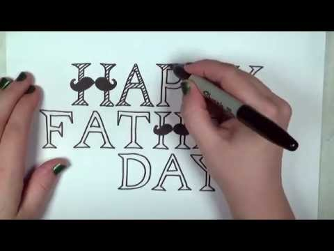 Happy Father's Day Card Drawing Lesson | CC