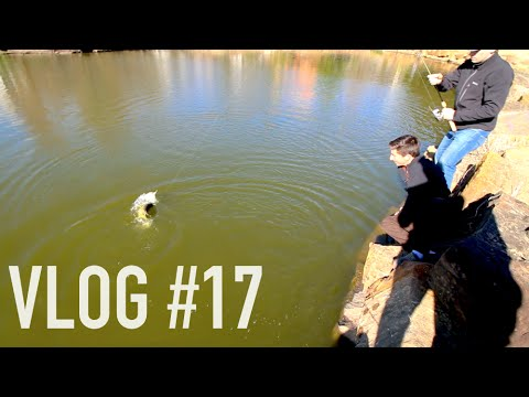 Big Oklahoma Pond Bass -- Vlog #17