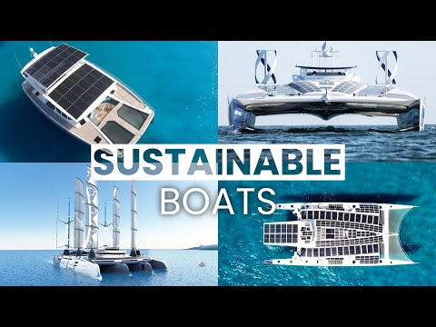 The Most Sustainable Boats   Hydrogen-Powered Ships, Solar Yachts & Renewable Energy Vessels