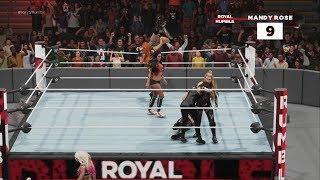 WWE 2K19 30 Women's Royal Rumble