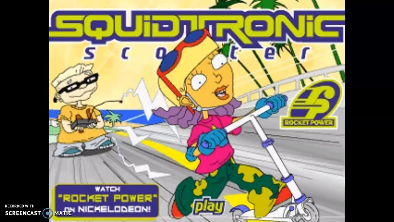 Rocket Power Squidtronic Scooter Nickelodeon Games Youtube