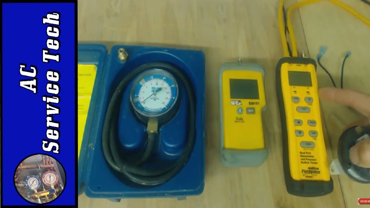 Testing A Gas Furnace Pressure Switch With A Digital