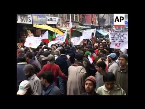 Protests in Indonesia, Kashmir, against Israel