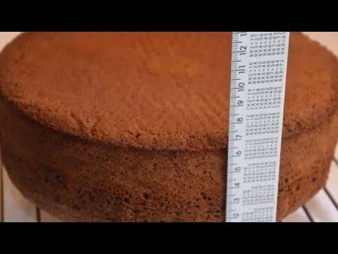 Бисквитный торт очень вкусный и простой рецепт видео