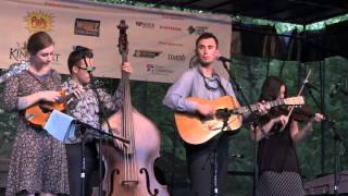 Rain And Snow- Buddy Robertson & Flatt Lonesome, Bluegrass On Broad 9 July 2015