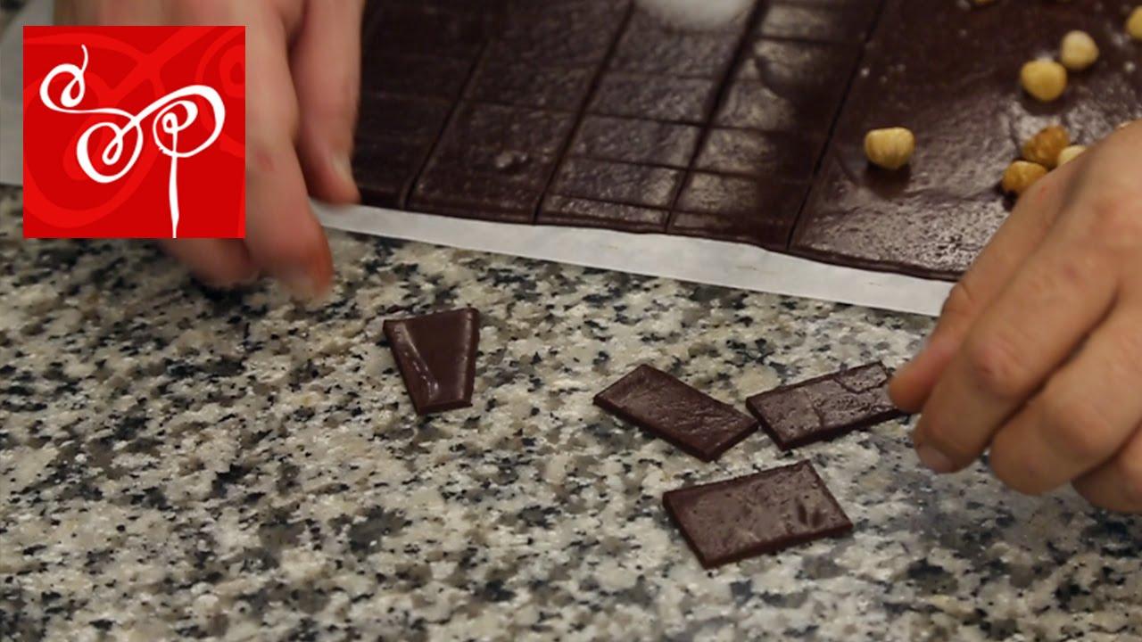 hur gör man marabou choklad