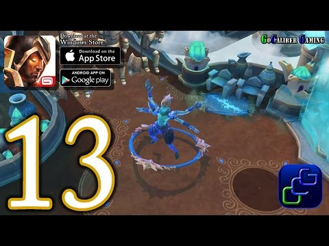 Dungeon Hunter 5 Android IOS Walkthrough - Part 13 - Solo Bounty 14-16 (EASY)