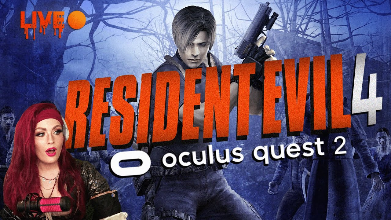Resident Evil 4 VR | OUT NOW for Quest 2 - First Time Playing #OculusPartner