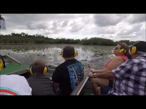 Belize city tour and air boat ride