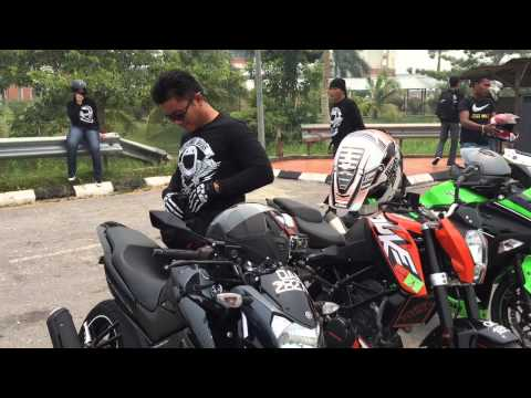 Sarawak Freelance Bikers feat D2 Roopers Tour Malaysia Day 2015 Offical