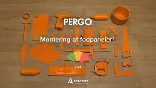 Lægge laminatgulv: montering af fodpaneler