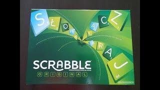 Scrabble Original Mattel Unboxing