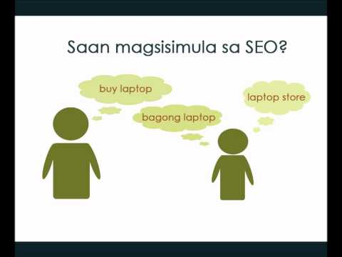 Ano ang Search Engine Optimization (SEO)? - Filipino Tutoria