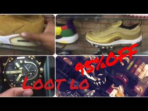 BALENCIAGA,NIKE,JORDANS,FILA AT 95%OFF LOOT LO WATCHES,CAPS ETC. ALL BRANDS OF SHOES AND WATCHES….